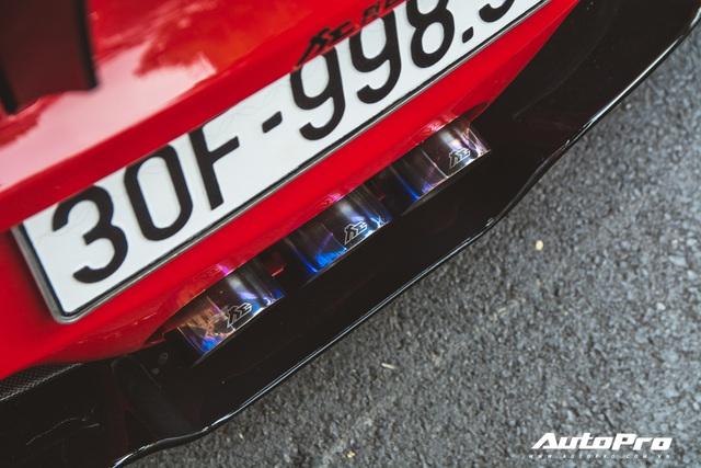 Ferrari 458 Liberty Walk độc nhất Việt Nam tái xuất, tiếng pô khiến bất kì ai cũng ngoái nhìn - Ảnh 14.
