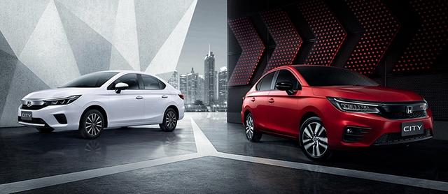 Ra mắt Honda City hoàn toàn mới: Động cơ tăng áp 1.0L, 120 mã lực - Áp lực lên Toyota Vios - Ảnh 1.