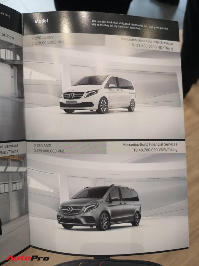 Mercedes-Benz giới thiệu V-Class 2020 tại Việt Nam: Có ghế thương gia, tủ lạnh, giá từ 2,579 tỷ đồng - Ảnh 2.