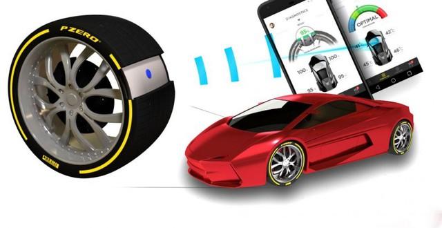 Ra mắt lốp xe thông minh có thể tương tác với tài xế - Ảnh 2.