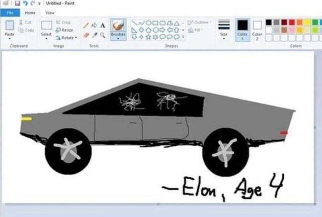 Xe bán tải siêu bền của tỷ phú Elon Musk bị dân mạng chế ảnh châm biếm - Ảnh 5.