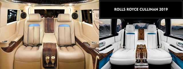 Thợ Việt lột xác nội thất Ford Tourneo với hơn 800 triệu đồng, lấy cảm hứng từ Rolls-Royce Cullinan - Ảnh 2.