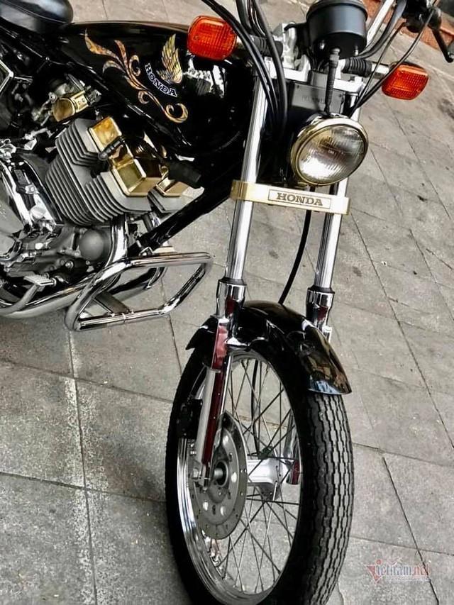 Xe máy Honda 34 năm tuổi giá 220 triệu ở Hà Nội - Ảnh 4.
