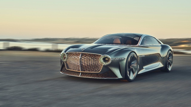 Bentley EXP 100 GT - Kỷ nguyên mới của xe siêu sang sắp bước ra đời thực