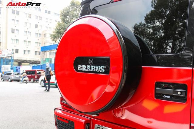 Mercedes-AMG G63 thứ hai tại Việt Nam nâng cấp gói độ Brabus nhưng màu sơn gây chú ý hơn cả  - Ảnh 12.