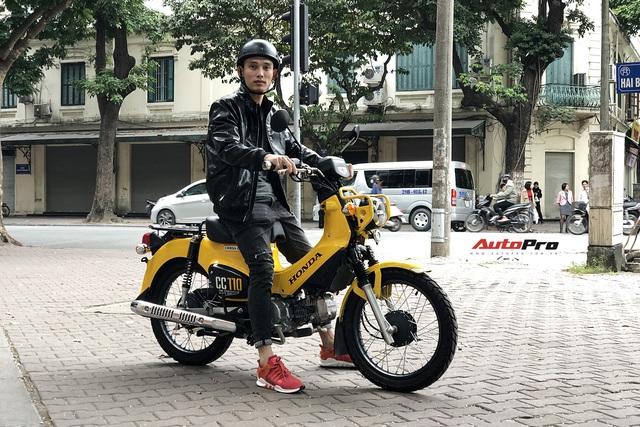 Honda Cross Cub giá trăm triệu của dân chơi Hà thành: Xe như Wave, giá hơn SH - Ảnh 1.