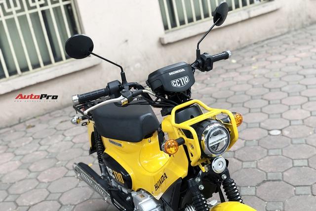 Honda Cross Cub giá trăm triệu của dân chơi Hà thành: Xe như Wave, giá hơn SH - Ảnh 5.