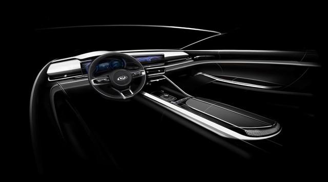 Kia Optima 2020 tiếp tục lộ diện - đối thủ nhăm nhe vị thế của ông lớn Toyota Camry và Honda Accord - Ảnh 4.