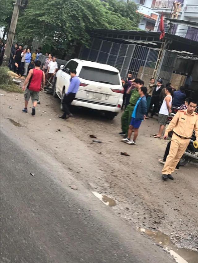 Hà Nội: Xe Lexus biển ngũ quý gây tai nạn khiến 1 người phụ nữ tử vong tại chỗ - Ảnh 5.