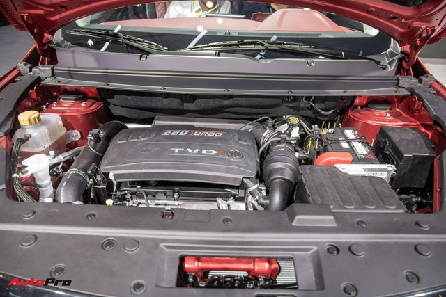 Cận cảnh Dongfeng T5 giá khoảng 700 triệu đồng vừa ra mắt Việt Nam: Đấu Honda CR-V bằng động cơ BMW, công nghệ tràn ngập - Ảnh 8.