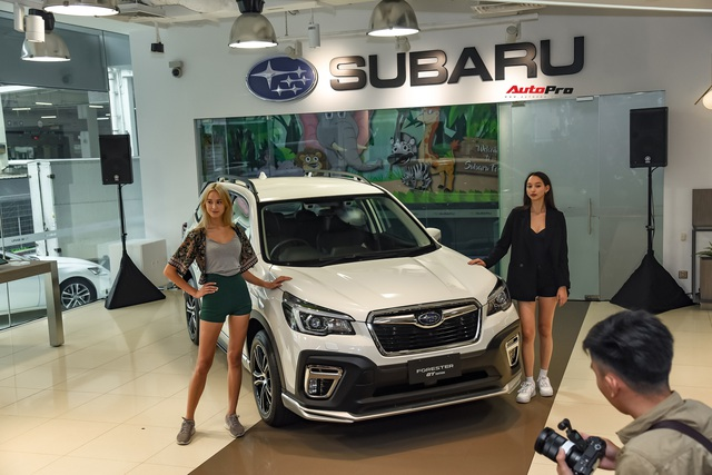 Subaru Forester bản thể thao GT Edition lên lịch về Việt Nam, phả hơi nóng lên Honda CR-V - Ảnh 1.