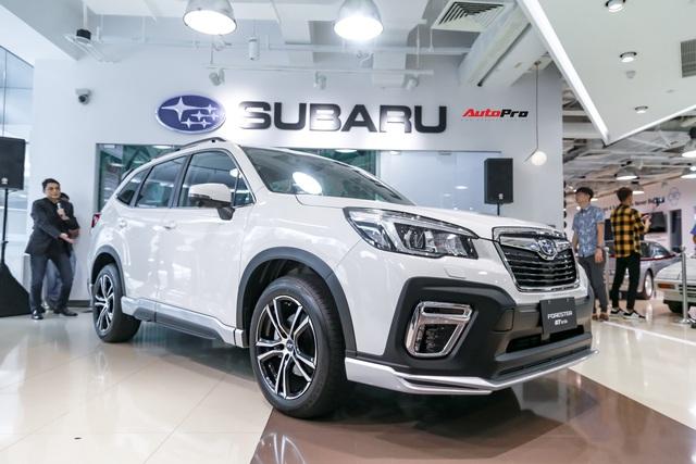 Subaru Forester bản thể thao GT Edition lên lịch về Việt Nam, phả hơi nóng lên Honda CR-V - Ảnh 2.