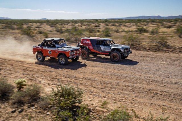 Ford manh động bất ngờ với Bronco R Prototype siêu dữ dằn - Ảnh 1.