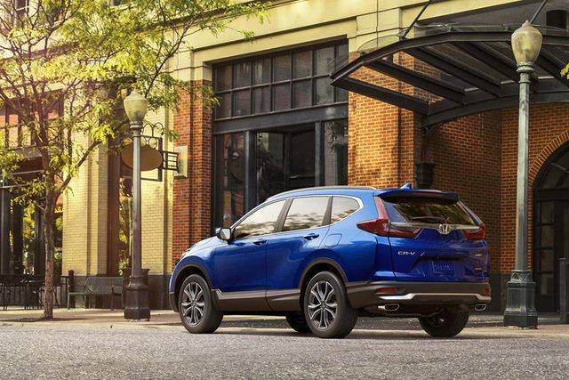 Honda CR-V nâng cấp nhẹ: Ngày càng hoàn thiện để giữ ngôi vua doanh số - Ảnh 1.