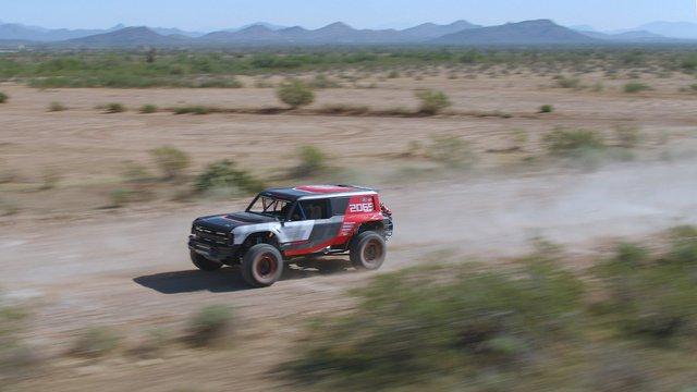 Ford manh động bất ngờ với Bronco R Prototype siêu dữ dằn - Ảnh 6.
