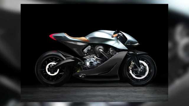 Mô tô Aston Martin đặc biệt thử sức với BMW Motorrad là đây - Ảnh 1.