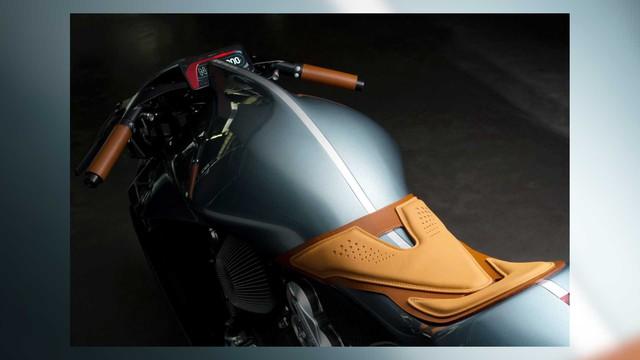 Mô tô Aston Martin đặc biệt thử sức với BMW Motorrad là đây - Ảnh 3.