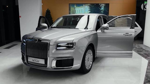 Aurus Senat - Cách người Nga làm xe thách thức Rolls-Royce Phantom