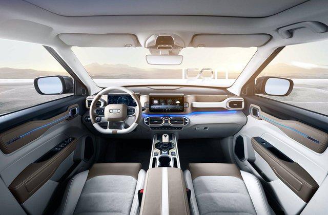 Hãng xe Trung Quốc Geely công bố SUV nhỏ, tham vọng lớn nhưng na ná Range Rover - Ảnh 4.