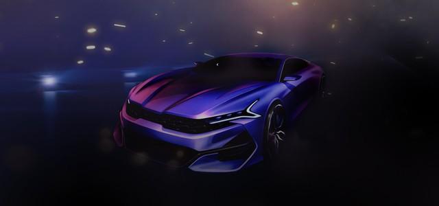 Kia Optima thế hệ mới tung ảnh phác thảo: Quá hầm hố, mới nhìn tưởng siêu xe - Ảnh 1.