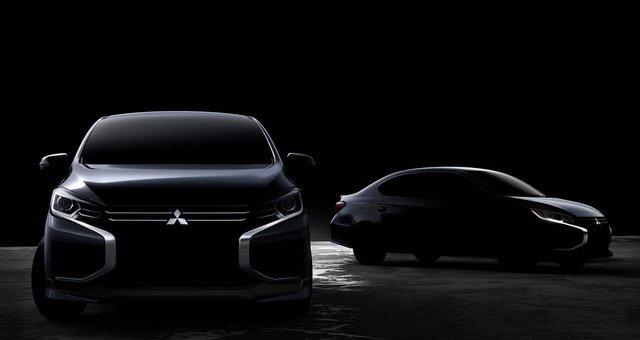 Mitsubishi Mirage, Attrage sắp nâng cấp với bộ mặt Xpander, Toyota Vios cần dè chừng - Ảnh 1.