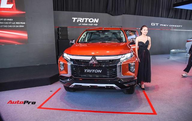 Mitsubishi Triton 2020 full option ra mắt Việt Nam với 5 phiên bản, giá cao nhất 865 triệu đồng - Ảnh 1.