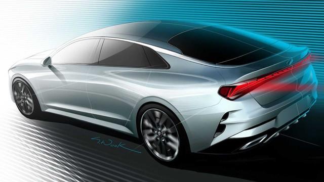 Rò rỉ nửa sau Kia Optima thế hệ mới: Quá đẹp và đủ khiến Toyota Camry phải dè chừng - Ảnh 1.