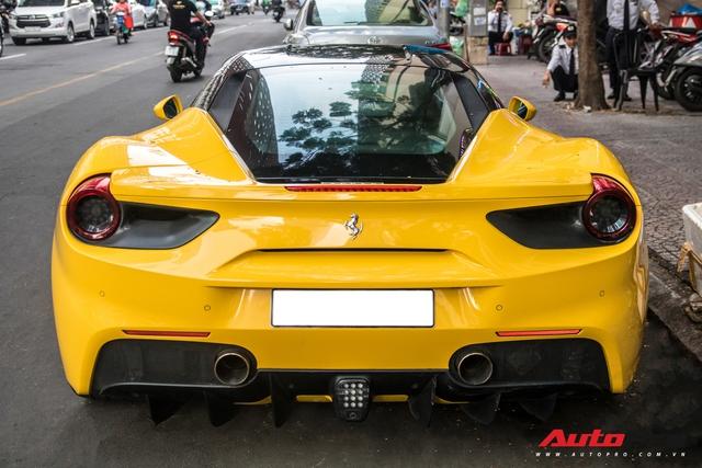 Ferrari 488 GTB của em trai Phan Thành bất ngờ xuất hiện trên phố Sài Gòn cuối tuần - Ảnh 6.