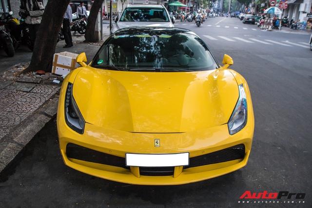 Ferrari 488 GTB của em trai Phan Thành bất ngờ xuất hiện trên phố Sài Gòn cuối tuần - Ảnh 8.