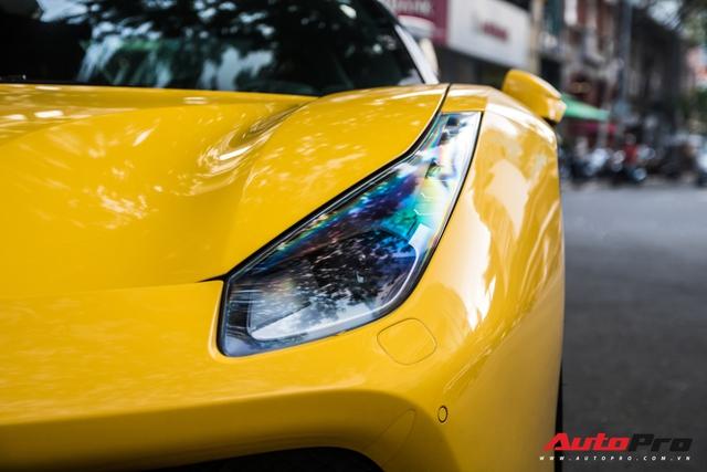 Ferrari 488 GTB của em trai Phan Thành bất ngờ xuất hiện trên phố Sài Gòn cuối tuần - Ảnh 13.