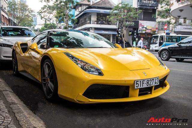 Ferrari 488 GTB của em trai Phan Thành bất ngờ xuất hiện trên phố Sài Gòn cuối tuần - Ảnh 3.