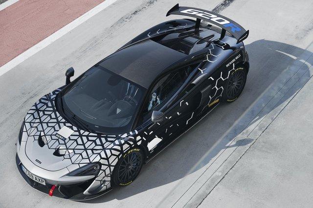 McLaren 620R ra mắt: Chuyển hóa giá trị xe đua thành thực tiễn - Ảnh 6.