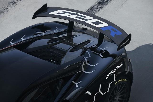 McLaren 620R ra mắt: Chuyển hóa giá trị xe đua thành thực tiễn - Ảnh 4.