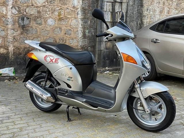 Xe máy cũ 15 năm, Honda @150 vẫn có giá đắt 80 triệu đồng - Ảnh 1.