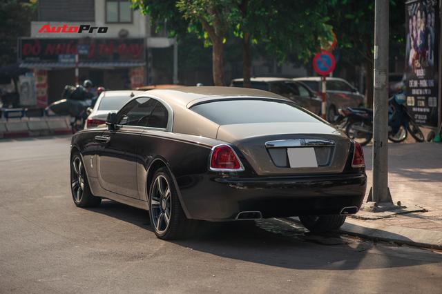 Bắt gặp Rolls-Royce Wraith độ độc đáo của dân chơi đồng hồ khét tiếng tại Hà Nội - Ảnh 7.