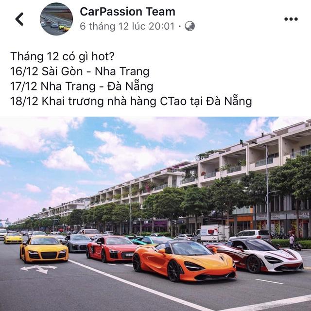Cường Đô-la và những thành viên Car Passion tổ chức hành trình siêu xe cuối năm trước thềm ASEAN Rally 2020 - Ảnh 1.