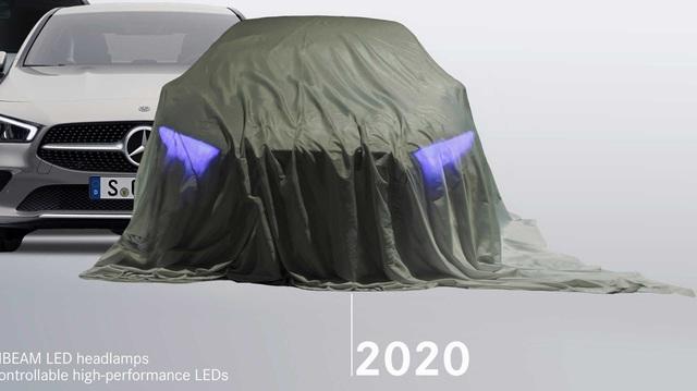 Mercedes-Benz S-Class, GLA sắp có phiên bản mới