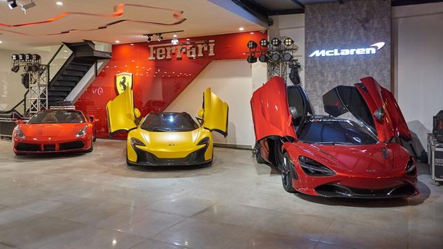 Hé lộ showroom nhiều siêu xe nhất tại Việt Nam: Một số có lai lịch đặc biệt - Ảnh 2.