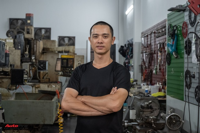 Mai Huy: Từ chế tạo đồ quay phim tới 'nghệ sĩ' mô tô khởi nghiệp từ bộ nhông dĩa xe máy - Ảnh 2.