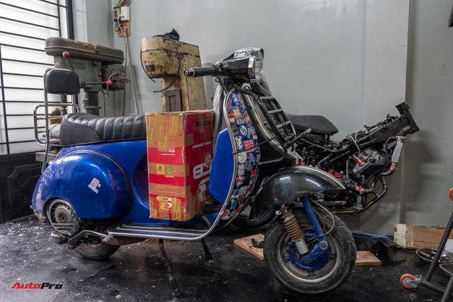 Mai Huy: Từ chế tạo đồ quay phim tới 'nghệ sĩ' mô tô khởi nghiệp từ bộ nhông dĩa xe máy - Ảnh 7.