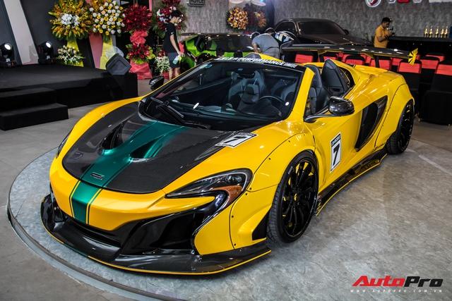 Lóa mắt với dàn siêu xe, xe sang bạc tỷ quy tụ tại buổi khai trương đại lý nhiều siêu xe nhất Việt Nam  - Ảnh 1.