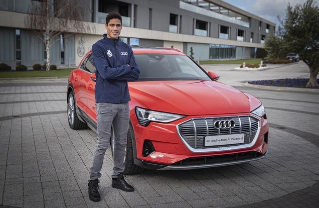 Góc nhận quà xa xỉ: Dàn siêu sao Real Madrid được tặng xe Audi miễn phí  - Ảnh 7.