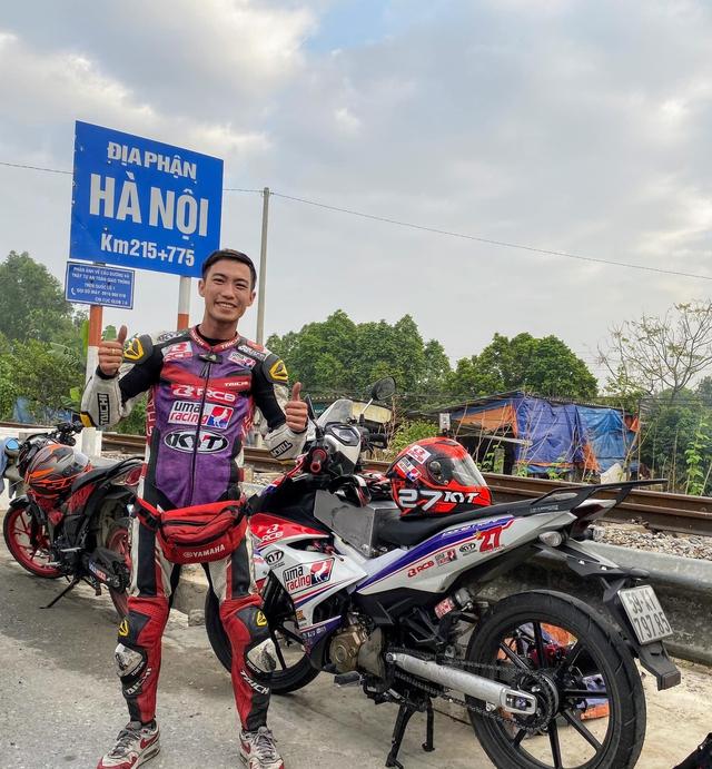 Thanh niên 25 tuổi cầm lái Exciter phượt xuyên Việt hơn 1.600 km trong 20 tiếng phá 'kỷ lục' thời gian gây tranh cãi - Ảnh 2.