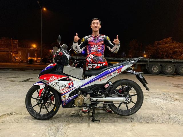 Thanh niên 25 tuổi cầm lái Exciter phượt xuyên Việt hơn 1.600 km trong 20 tiếng phá 'kỷ lục' thời gian gây tranh cãi - Ảnh 3.