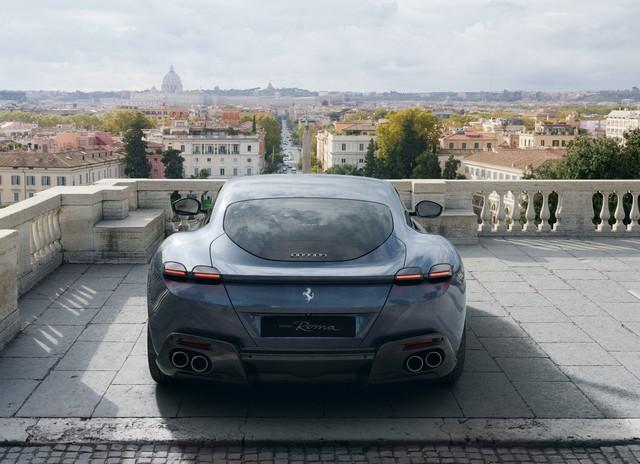 Ferrari Roma hé lộ thông số chi tiết: Tăng tốc từ 0-100 km/h chỉ trong 3,4 giây - Ảnh 3.