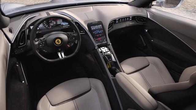 Ferrari Roma hé lộ thông số chi tiết: Tăng tốc từ 0-100 km/h chỉ trong 3,4 giây - Ảnh 4.