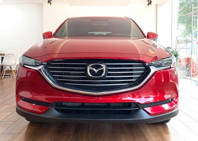 Gần ngang giá CX-5, bản rẻ nhất của Mazda CX-8 đang nhận cọc bị cắt những gì? - Ảnh 1.