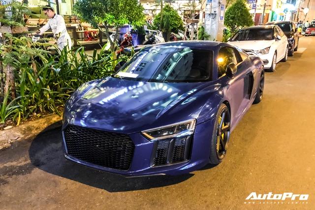 Liên tục đổi chủ và thay áo, đây chính là chiếc Audi R8 V10 Plus tắc kè hoa nhất tại Việt Nam - Ảnh 6.