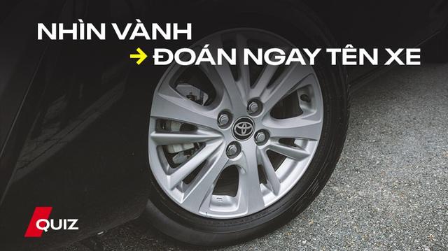 [Quiz] Chỉ nhìn vành, bạn có thể đoán được tên xe?