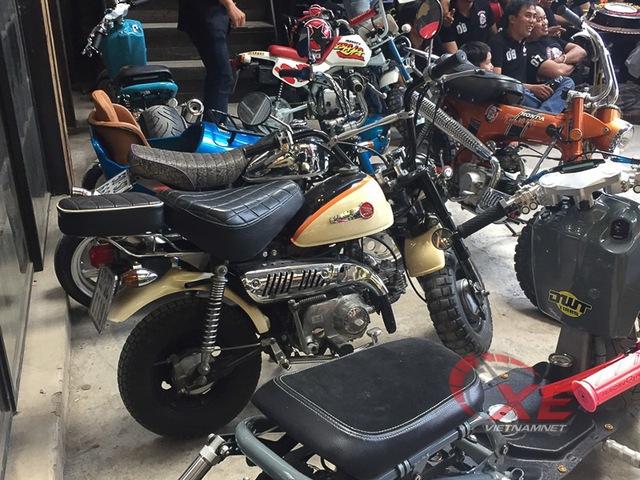 Những chiếc minibike đẹp long lanh của dân chơi Sài Gòn - Ảnh 1.